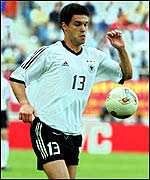 Germany midfielder Michael Ballack