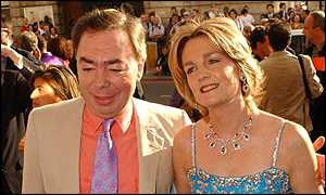 Lord and Lady Lloyd Webber