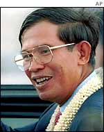 Cambodian Prime Minister Hun Sen