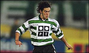 Hugo Viana in action for Sporting Lisbon