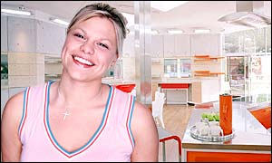 Big Brother 3 contestant Jade Goody