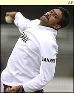 Kumble's stock ball is the top-spinner