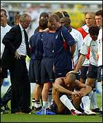 Rio Ferdinand after England lost to Brazil