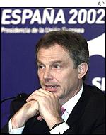 Tony Blair in Seville
