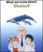 A Japanes government leaflet about whales designed for children