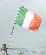 Irish men and women will fly the flag wherever we want!