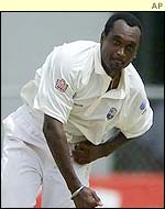 West Indies skipper Carl Hooper