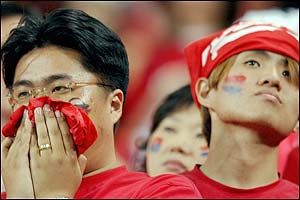 Fans of South Korea can barely watch