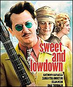 Poster for the movie Sweet and Lowdown