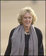 Camilla Parker Bowles, long term partner of Prince Charles