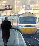 Trains before privatisation