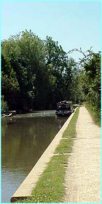 The park is very close to a canal and within 50 metres of some houses