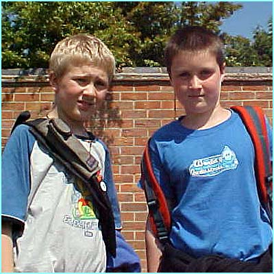 Jeremy 10, and Josh 11, love skate-boarding and go about twice a week