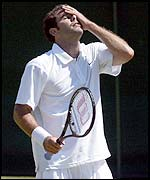 Sampras has not won a tournament since 2000