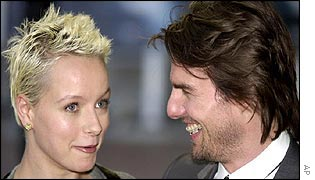 Samantha Morton and Tom Cruise