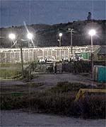Cells at Guantanamo Bay