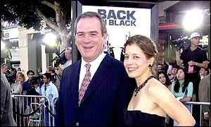Tommy Lee Jones and wife Dawn