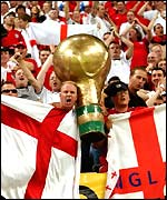 England supporters at the World Cup