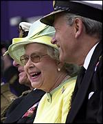 The Queen and Admiral Sir Michael Boyce
