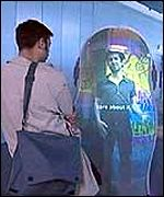 Interactive Urbis display