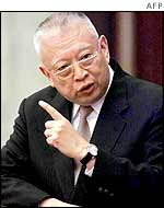 Hong Kong Chief Executive Tung Chee-hwa