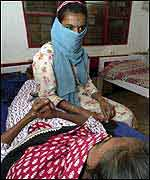 Indian Aids patient