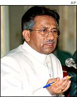 The President of Pakistan, General Musharraf
