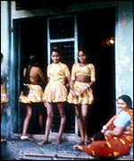 Girl prostitutes in Bombay