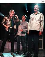 The Who at a Cleaveland, US gig