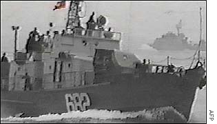 North Korean ship in 1999 clash