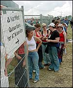 Glastonbury cashpoints
