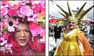 Gay pride in Mexico and Austria