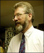 Gerry Adams, West Belfast MP