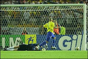 Ronaldo puts Brazil ahead against Germany