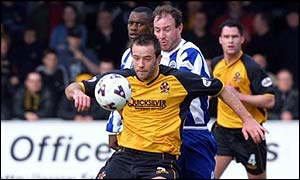 Ian Ashbee in action for Cambridge