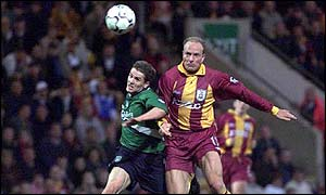 Robert Molenaar in action for Bradford