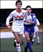 Owen Coyle in action for Clydebank