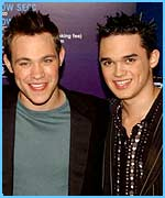 Pop Idol's Will Young and Gareth Gates are both chart-toppers