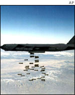 B-52 bomber in Afghanistan