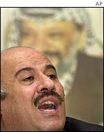 Jibril Rajoub, former preventative security chief in the West Bank