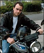 Todd Carty as Mark Fowler in EastEnders
