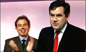 Tony Blair and Gordon Brown