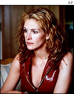 Julia Roberts in Erin Brockovich