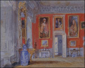 Turner's Red Room, Petworth - copyright: Tate Gallery, London