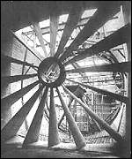 Heritage listed wind tunnel at Farnborough