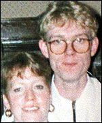 Michael Abram with his mother, Linda
