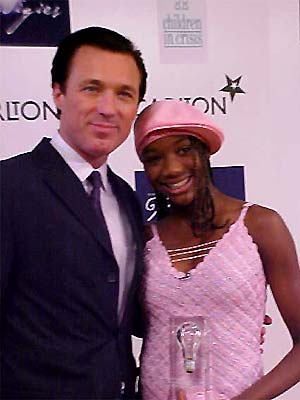 Ex-Eastenders star Martin Kemp presented Tonatha Davis-Belgrave with the award for the best actor