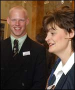 Cherie Blair and Kyle Young