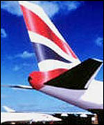 British Airways tail