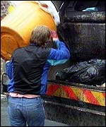 Dustbin lorry